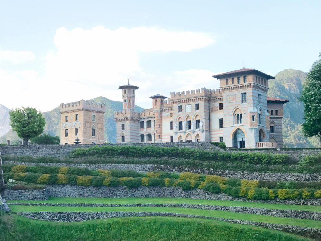 Castle Ceconi in Friuli region