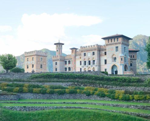 Castle Ceconi in Friuli
